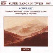 SCHUBERT : Moments Musicaux / Three Piano Pieces D. 946