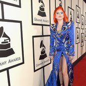 GAGA X BOWIE = GRAMMY AWARDS 2016.
