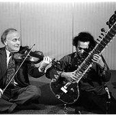 Ravi Shankar & Yehudi Menuhin