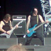 Beholder Playing Bloodstock 2009 Martyn Blackwell and Si Fielding