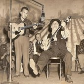 Uncle Dave Macon with son Dorris