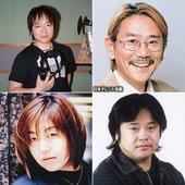 Nozomu Sasaki, Shigeru Chiba, Megumi Ogata, Nobuyuki Hiyama