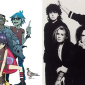 Gorillaz vs. The Cure