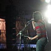 Show com a banda Laura Bastos e os Fulanos em 2012 - Abertura da banda Reação em Cadeia