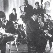 Alexis Korner's Blues Incorporated at the Flamingo, London - early 1963.