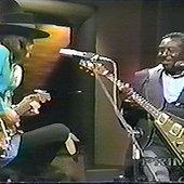 Stevie Ray Vaughan with Albert King