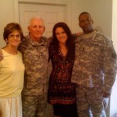 @ Ft lee military suicide prevention event with Gen Chambers, his wife, & Sgt Maj…