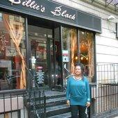 Yolanda R. outside Billie's Black