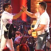 """Gravação do CD/DVD - \""""De Volta aos Bares\"""" (2009)"""