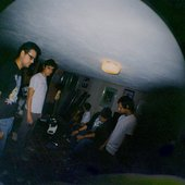 the basement with a fisheye