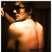 Martin's new tattoo 8 August