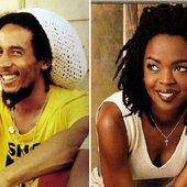 Lauryn Hill & Bob Marley
