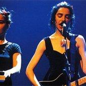 Björk and PJ Harvey
