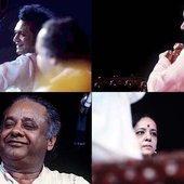 Ravi Shankar, Kamala Chakravarti & Alla Rakha