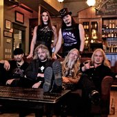 Nightwish with temporary singer Floor Jansen