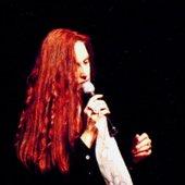 Lana Lane sings live onstage at Club Citta, Kawasaki, Japan