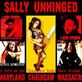 ATTACK OF THE VAMPIRATES & LADY VENOM (SALLY UNHINGED - Maryland Chainsaw Massacre)!!!