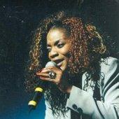 Monique Séka au Zénith en 1999 à Paris.