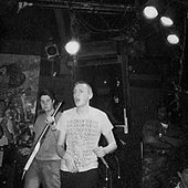 Side By Side's first show at CBGB, NYC, Photo courtesy of: Jules