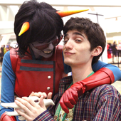 Toby with Terezi