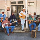 Alan Jackson With His Band