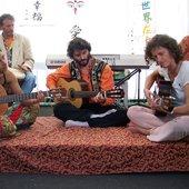 Live-Performance on the Art Fair Kleinsassen 2007