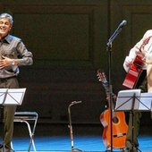 Caetano Veloso and David Byrne