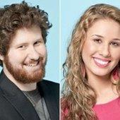 Casey Abrams e Haley Reinhart