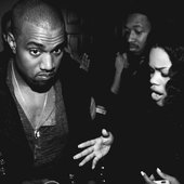 Kanye West, Prynce Cy Hi & Teyana Taylor