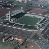 monza-stadio brianteo and field(now are become cement;)
