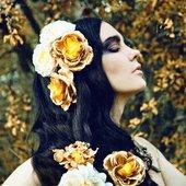 Zoe Jakes in Dark Beauty Magazine