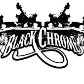 Black Chrome logo designed by Melanie Tahata aka mal3ficent