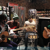 Twin Atlantic @ Fopp Union Street instore signing//6th October 2008