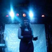 Teresa Dead on stage