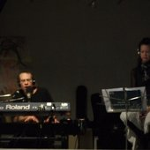Belladonna performed at the Edge Gallery in Winnipeg with Kelly Ruth