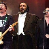 U2, Luciano Pavarotti