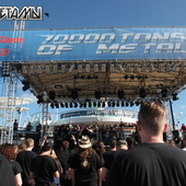 Anaal Nathrakh performing live at the 70000 Tons of Metal-2013 cruise 2013