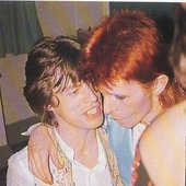 Bowie and Jagger