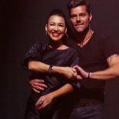 Naya Rivera & Ricky Martin