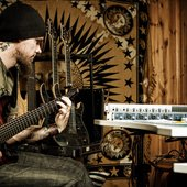 Tuomas in studio for Routa