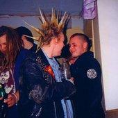 Marcin ( od prawej),Sanctus Iuda,Szwecja,1997