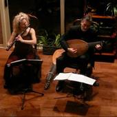 with flautist Mindy Rosenfeld