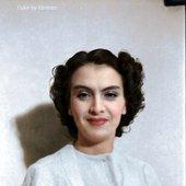 Maria Tănase (coloured photograph)