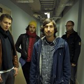 Outside the rehearsal space 2009