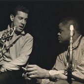 Kenny Burrell & Stanley Turrentine (Hustlin' session , 1964) foto: Francis Wolff