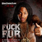 Waka goes naked for PETA