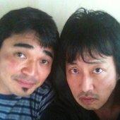 岡村と卓球