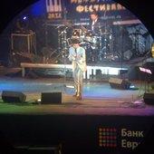 Мэтт на фестивале Дон Чето Джаз 6 августа 2010 г. в Калининграде