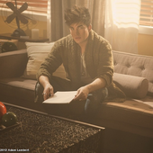 Adam Lambert - Better Than I Know Myself video 650x620 PNG