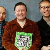 Ricky Gervais, Stephen Merchant, & Karl Pilkington